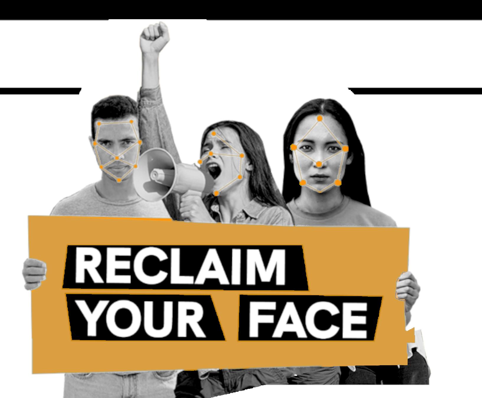 logo reclaim yourface!